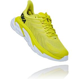 Hoka One One Clifton Edge Running Shoes Women citrus/white